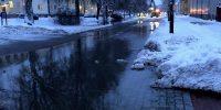 Vattenläcka Drottninggatan