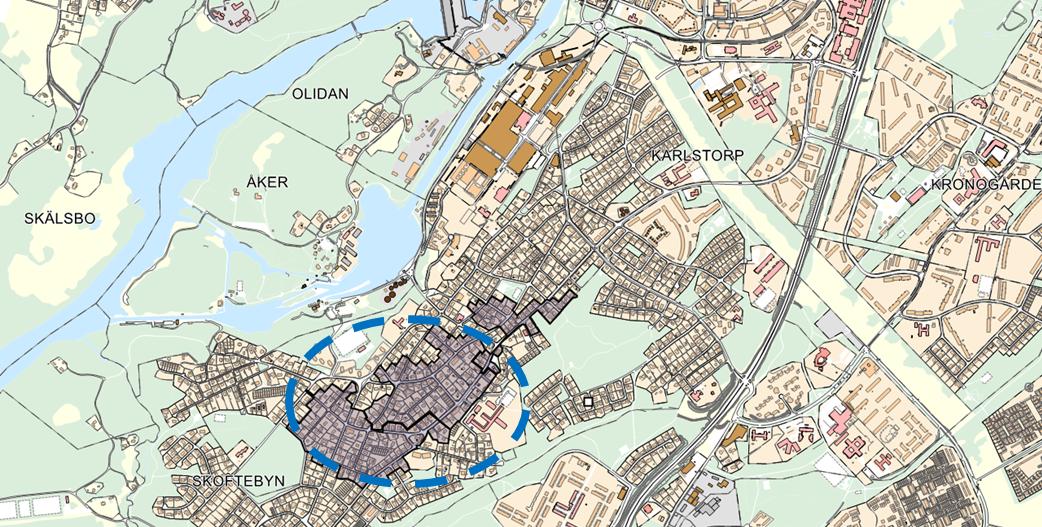 Kartbild Skoftebyn